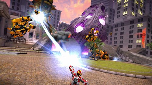 Screenshot Playworld: Superhelden auf dem iPhone