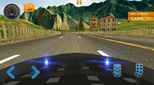 Fast lane car racer auf Deutsch