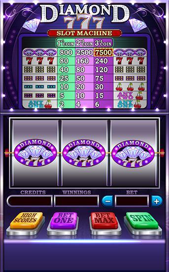 Diamond 777: Slot machine pour Android