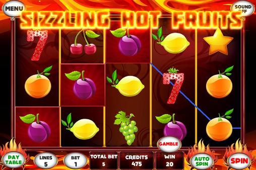 Sizzling hot fruits slot für Android
