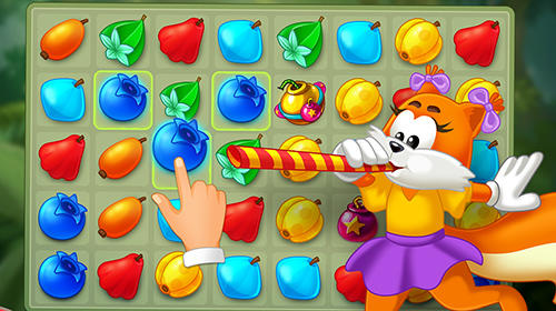 Match 3: Funny toons adventures für Android