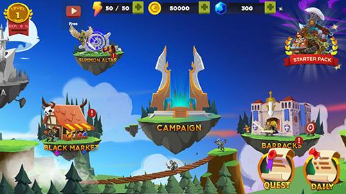 策略 Kingdom wars: Battle royal智能手机