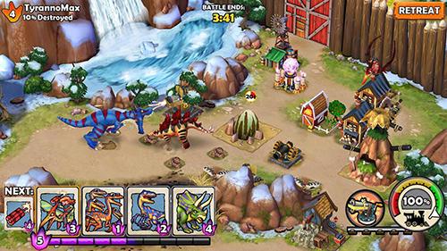 Dino wars für Android