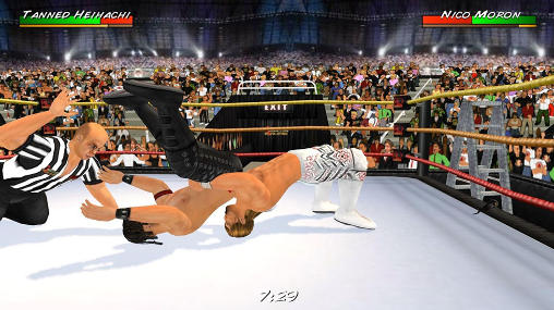 Wrestling revolution 3D captura de pantalla 3