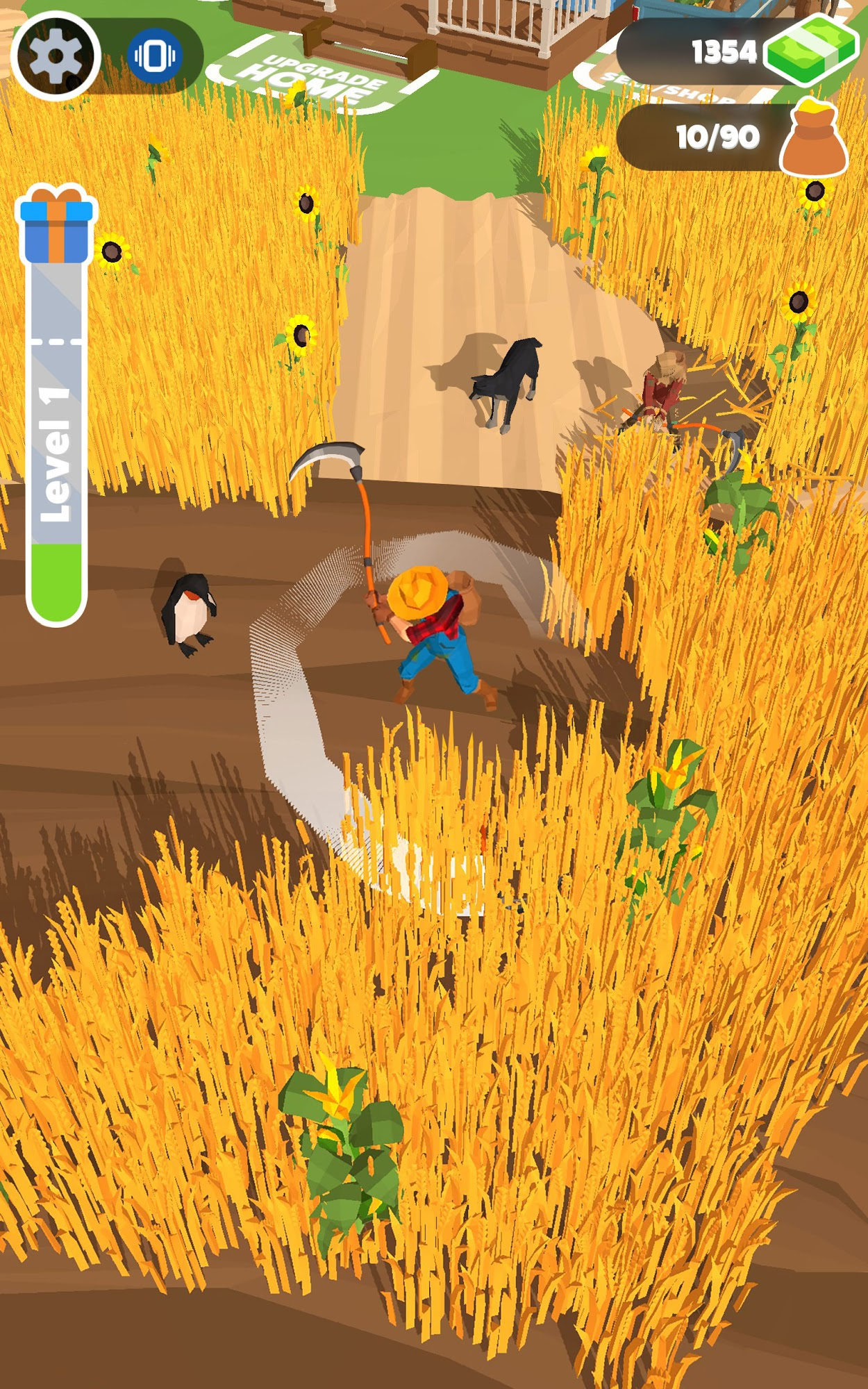 Harvest It! Manage your own farm для Android