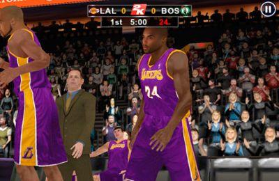 NBA 2K12  全米バスケットボール協会の日本語版