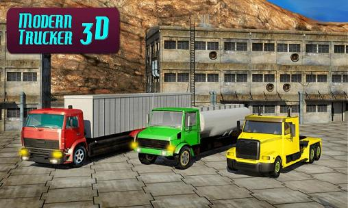 Modern trucker 3D captura de tela 1