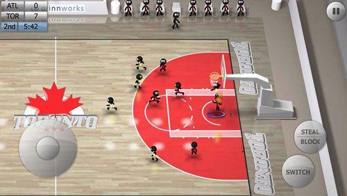 Screenshot Stickman basketball on iPhone