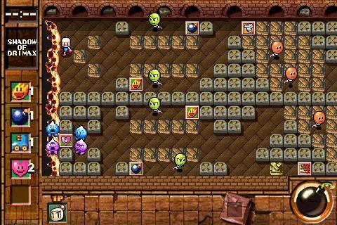 Screenshot Bomberman Touch 2: Vulkan Party auf dem iPhone