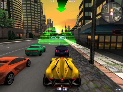 Autos Midtown crazy race auf Deutsch