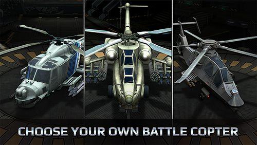 Captura de pantalla Helicópteros de combate en iPhone