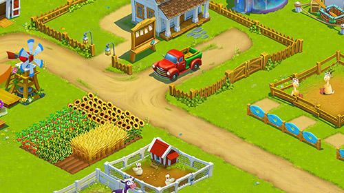 Golden farm: Happy farming day für Android