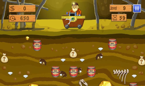 Gold miner deluxe für Android