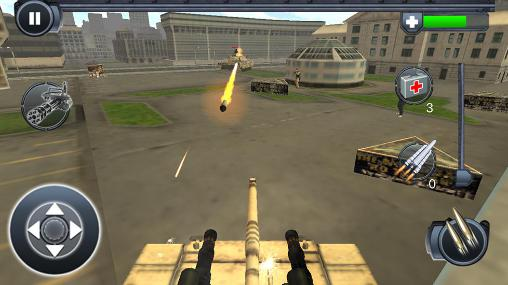Tank war: Revolution für Android
