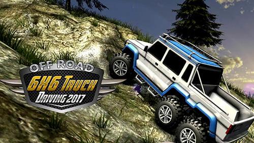 6x6 offroad truck driving simulator Screenshot