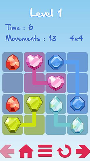 Arcade-Spiele Lines für das Smartphone