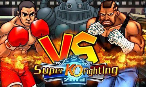 Super KO fighting icône