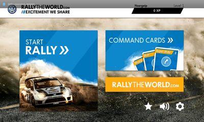 Rennspiele Rally The World. The Game für das Smartphone