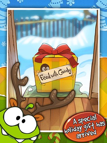 Cut the rope: Holiday gift Screenshot