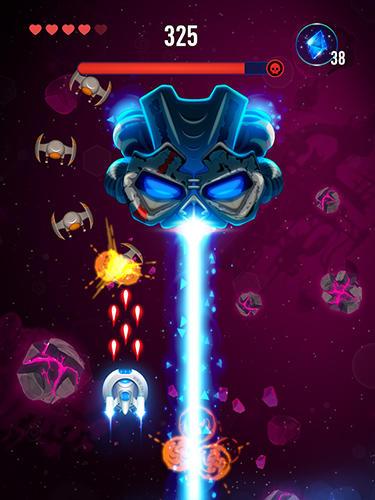 Jeux de vol Rocket X: Galactic war en français