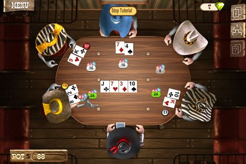 Screenshot Gouverneur des Poker 2: Premium auf dem iPhone