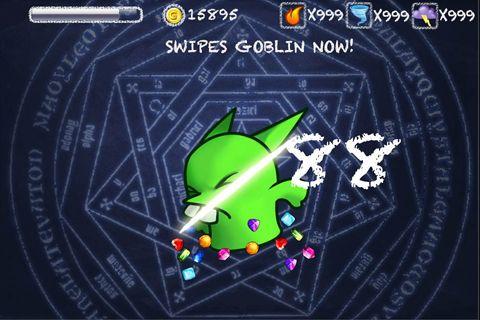 Screenshot Juwelen und der Goblin auf dem iPhone