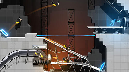 Bridge constructor portal captura de pantalla 3