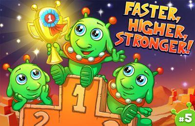 Arcade-Spiele: Lade Kleine Aliens auf dein Handy herunter