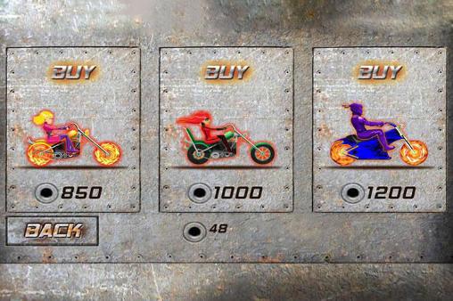 Arcade-Spiele Moto fire für das Smartphone