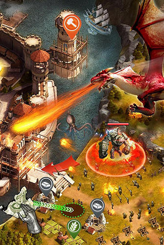 Fantasy Heroes of empires: Age of war auf Deutsch