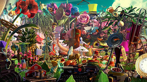 Hidden objects Wonderland: Fairy tale games para Android