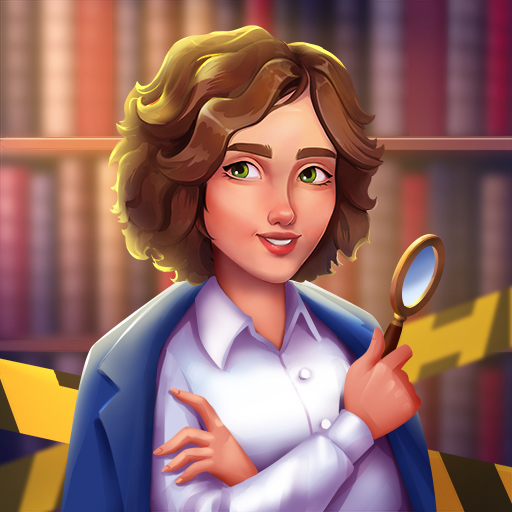 Jane's Detective Stories: Mystery Crime Match 3 іконка