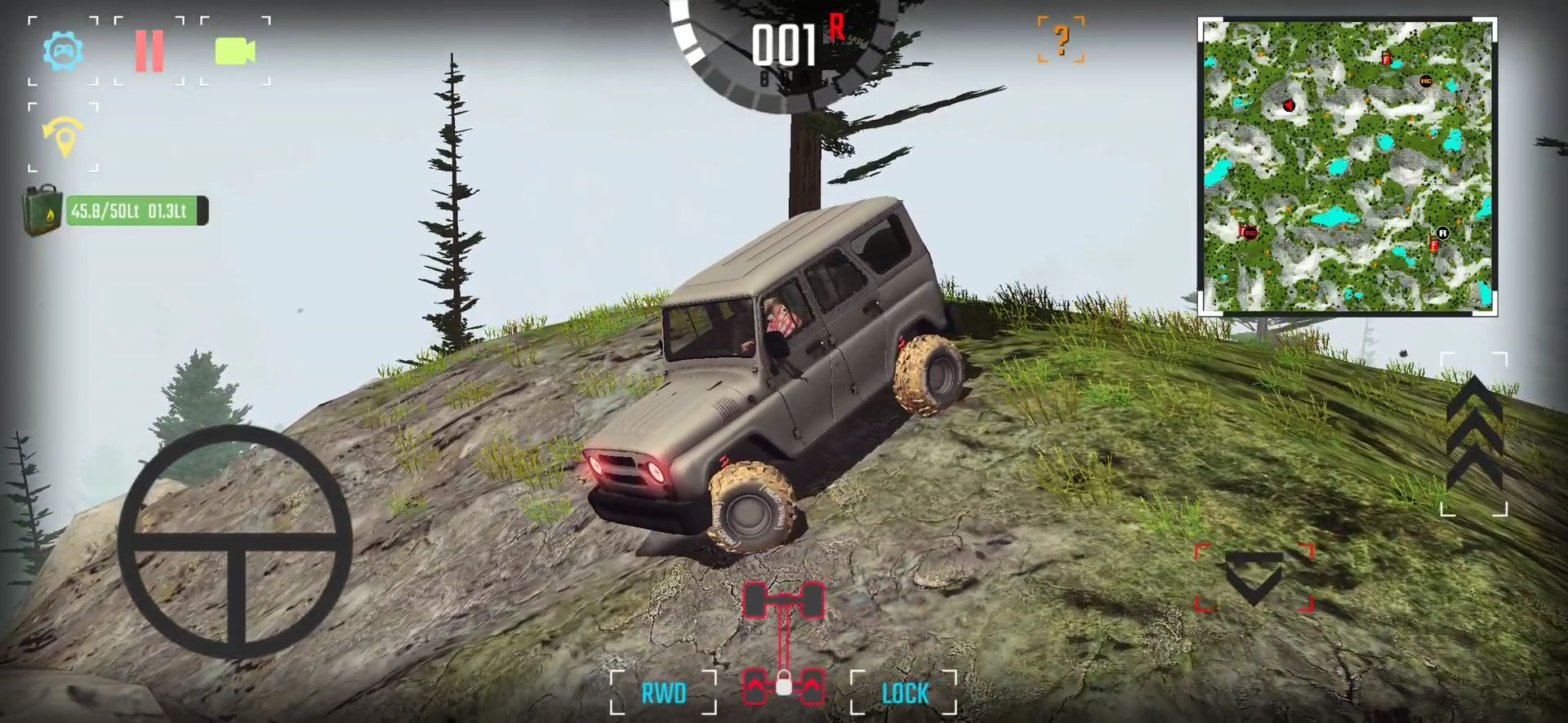 Android用 Project: Offroad 2.0