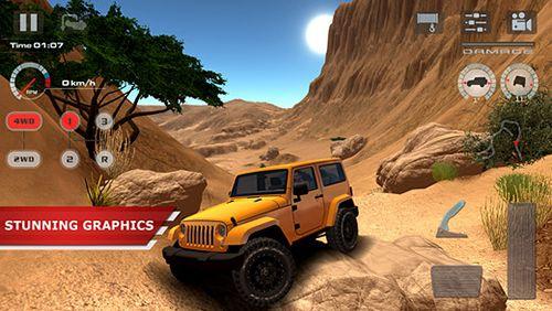Offroad drive desert картинка 1