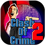 Clash of crime: Mad city war go icono