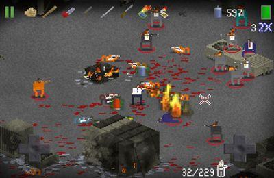 Screenshot Zombies auf dem iPhone