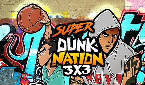 Super dunk nation 3X3 icono