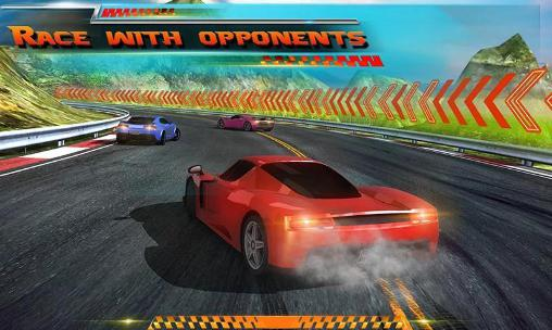 Racing in city 3D pour Android