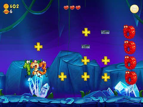Arcade-Spiele: Lade Laufendes Gemüse auf dein Handy herunter