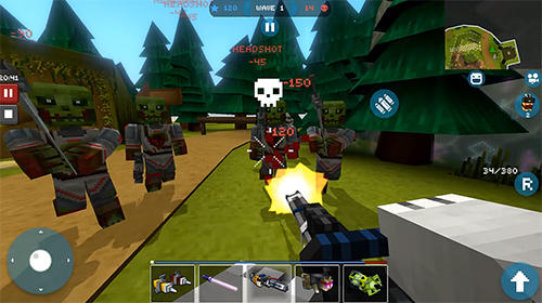 Mad gunz: Online shooter capture d'écran 1