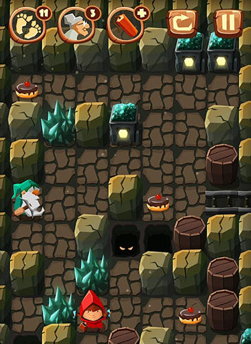 Bring me cakes: Little Red Riding Hood puzzle für Android