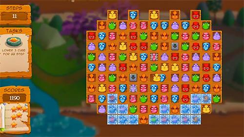 Arcade-Spiele Fable rush: Match 3 für das Smartphone
