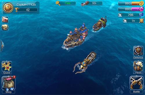 Sail craft: Battleships online captura de pantalla 1