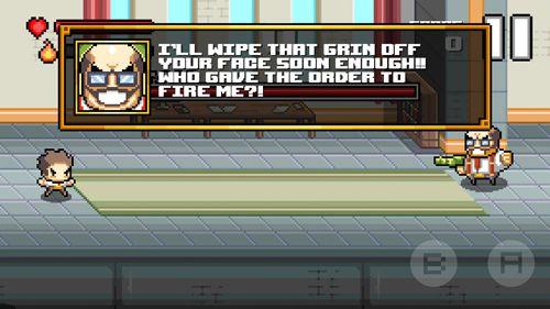Screenshot Beatdown! auf dem iPhone