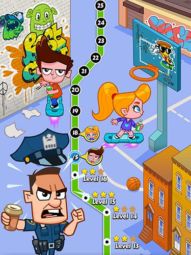 Arcade City vandal: Spray and run für das Smartphone
