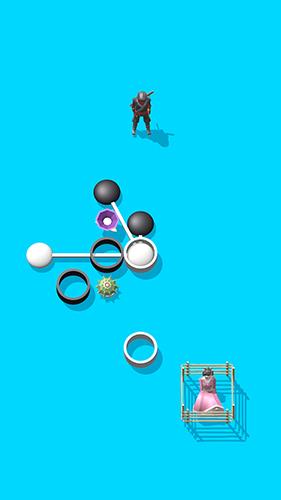Juegos de lógica Dot ninja para teléfono inteligente