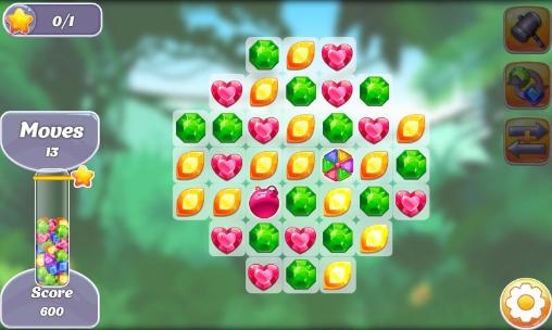 Gems and dragons: 3 candy für Android
