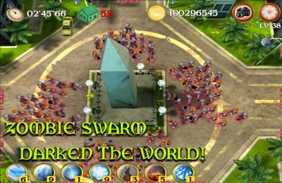 Zombies: expurgación para iPhone gratis