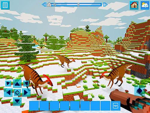 Raptorcraft: Survive and craft Screenshot