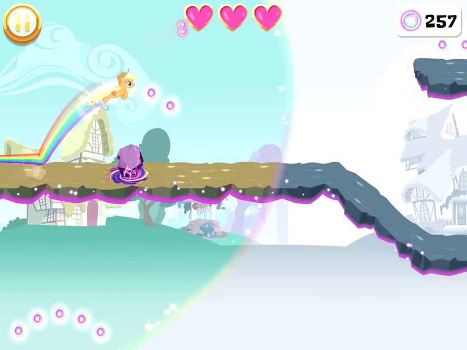 My Little Pony Rainbow Runners screenshot 1